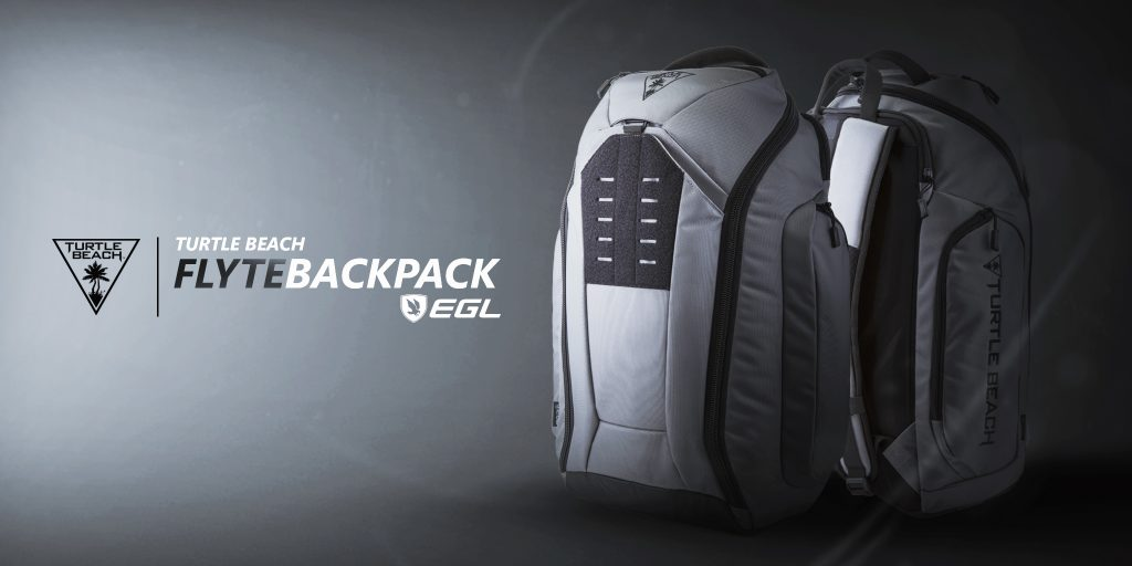 Turtle Beach EGL Flyte backpack available now.
