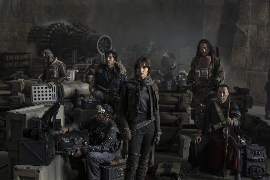 Rogue One crew.