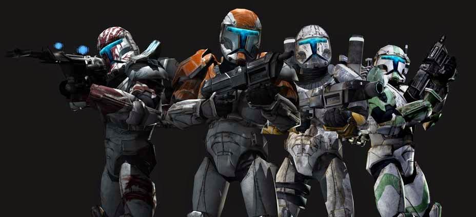 Star Wars Republic Commando squad.