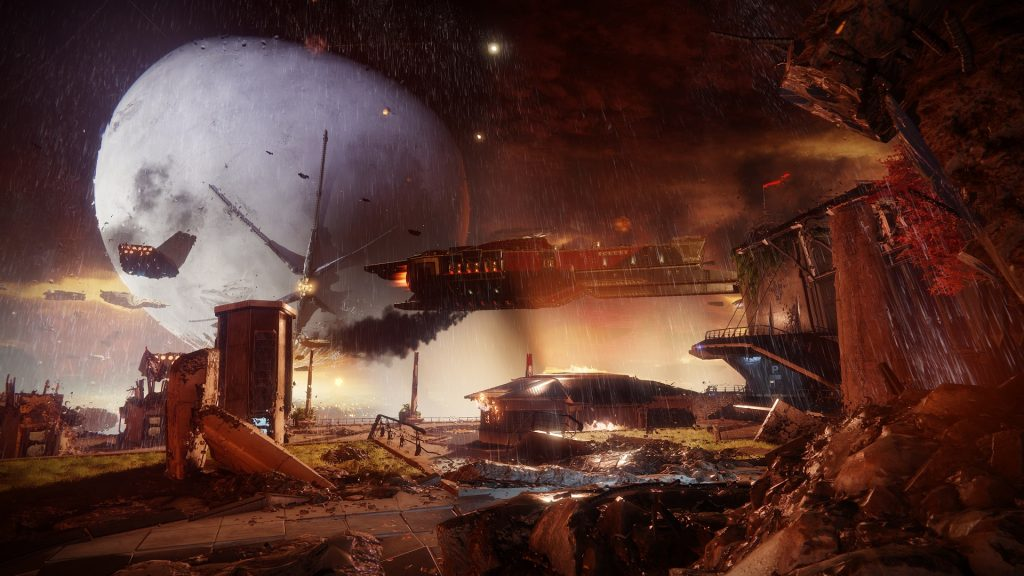 After the Cabal invade and destroy the Tower, the Guardians must fight back and prove their worth.