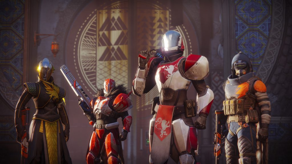 Deck out your Guardian with new armor and weapons.