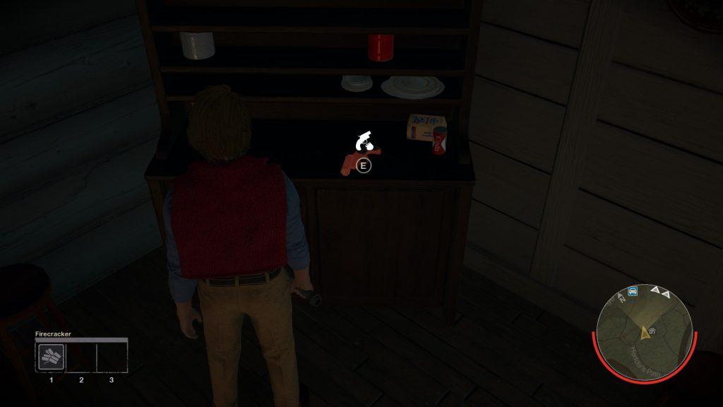 Fire crackers and flare guns stun Jason.