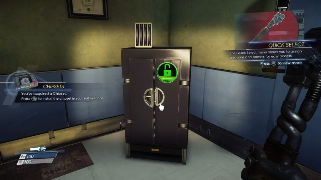 The code to the first safe in Prey