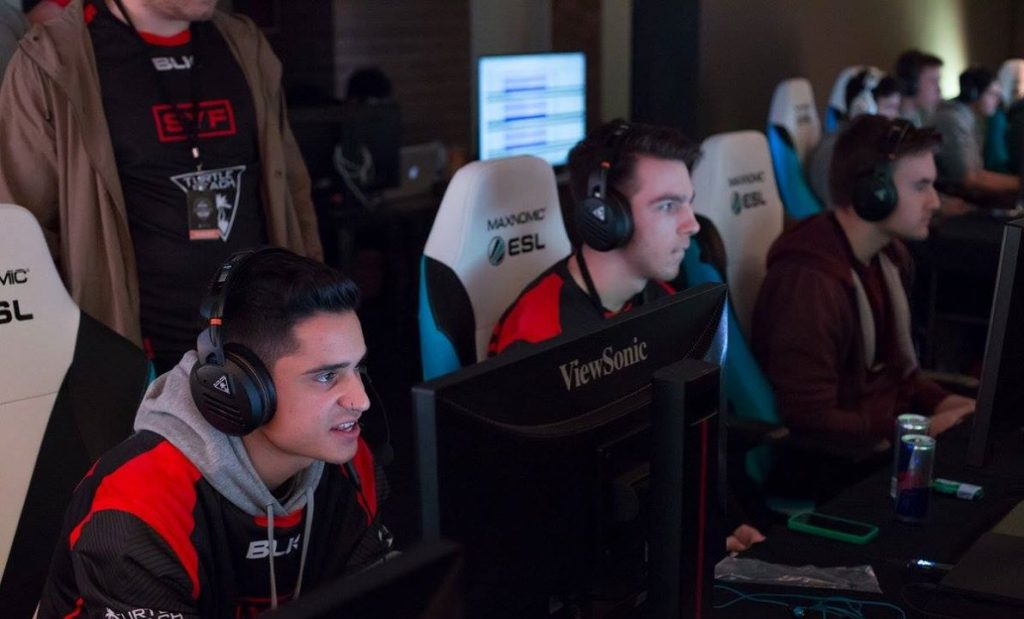 SYF Gaming compete at CWL Sydney.