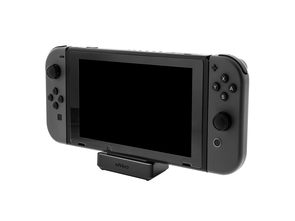 The Nyko Nintendo Switch Dock is compact and lightweight, making it ideal for travel.