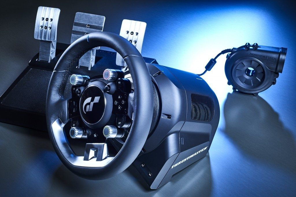 The Thrustmaster T GT is perfect for Gran racing enthusiasts.