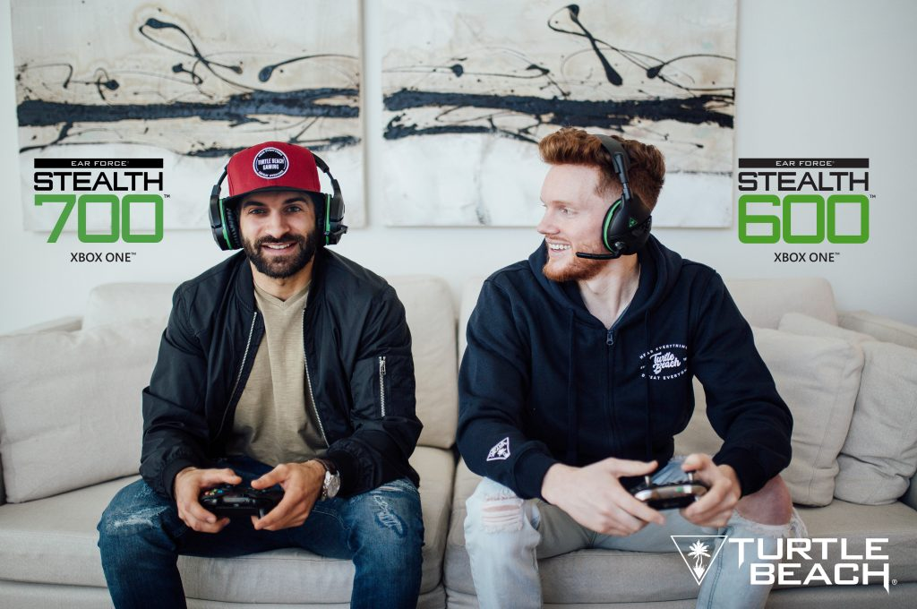 OpTic Flamesword and OpTic Maniac debut the new STEALTH 600 and STEALTH 700 wireless headsets for Xbox One from Turtle Beach.