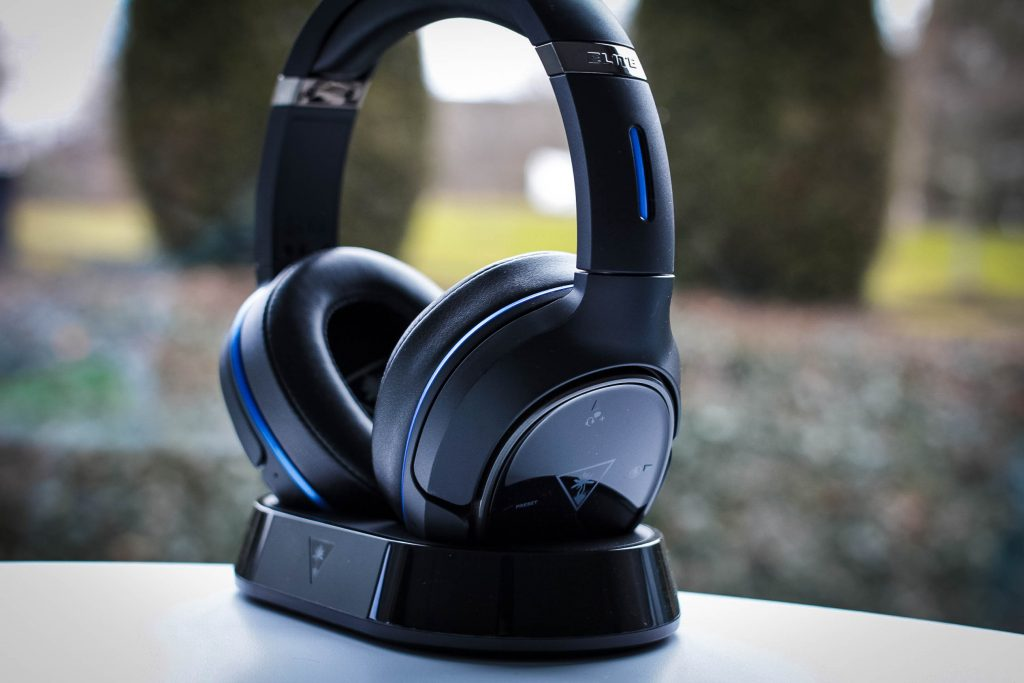 The Elite 800 from Turtle Beach comes with a magnetic charging stand.