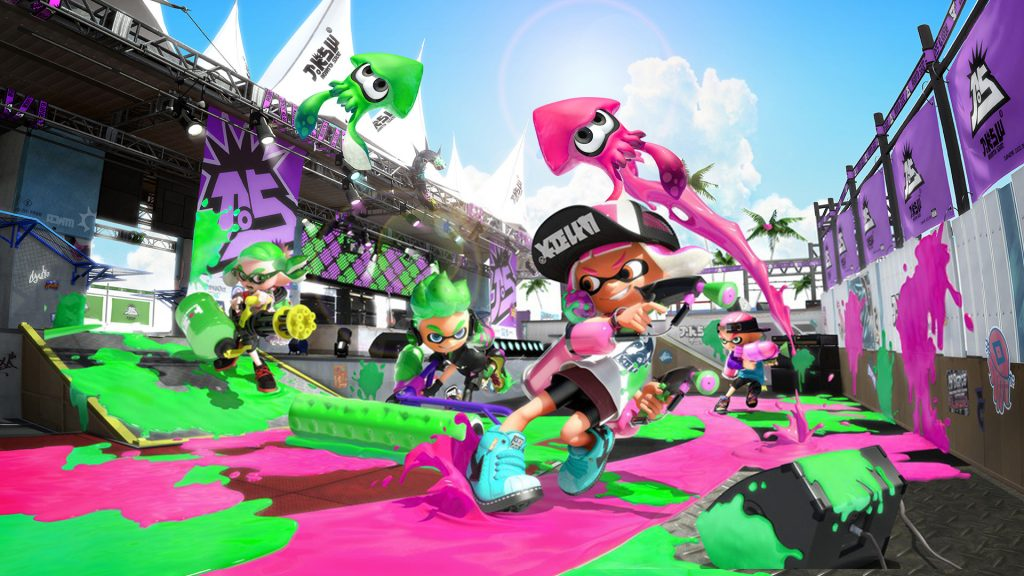 How to set up chat in Splatoon 2 on Nintendo Switch.