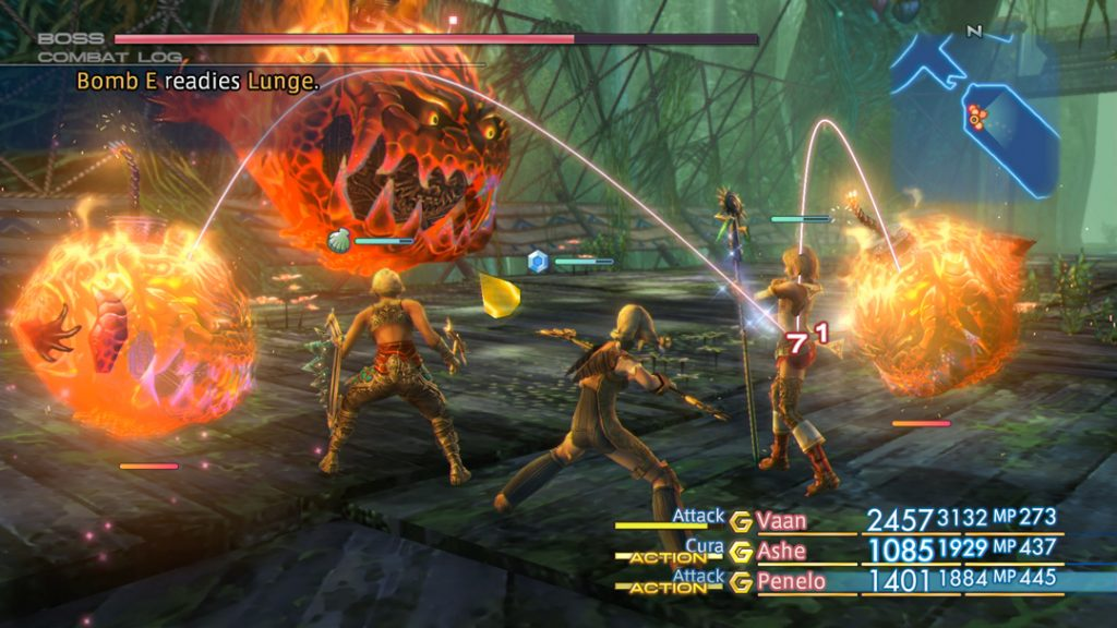 With the new map overlay, Final Fantasy XII: The Zodiac Age is more user-friendly.