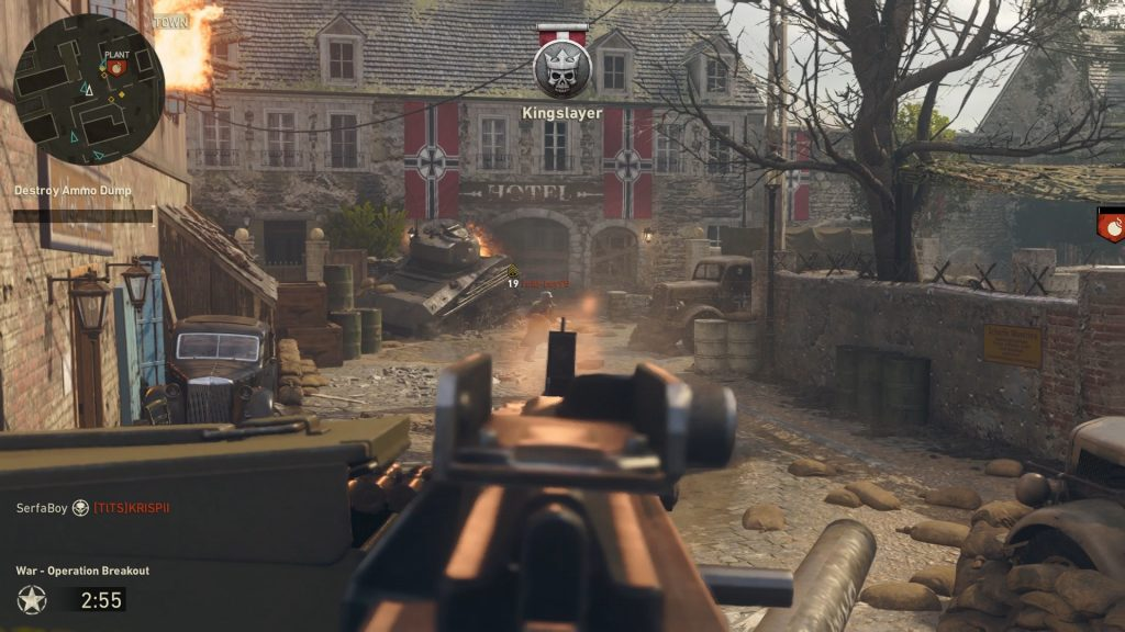 """The new mode """"War"""" adds objective-based combat to Call of Duty."""