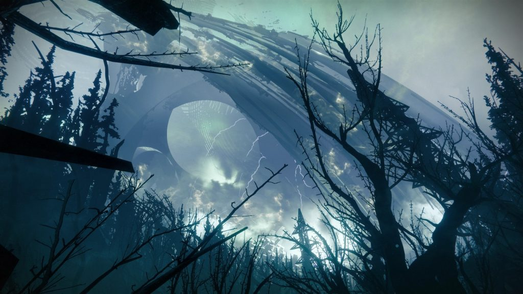 The environment in Destiny 2 is full of mesmerizing sounds.