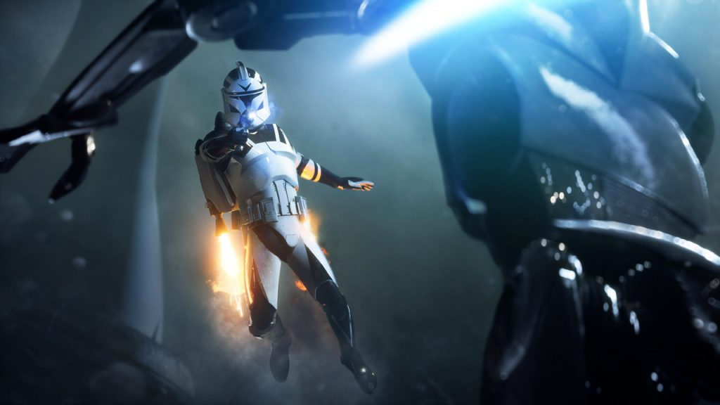 Star Wars Battlefront 2 captures the magic of the entire franchise.