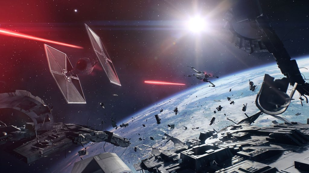 Starfighter Assault is fast-paced and intense.