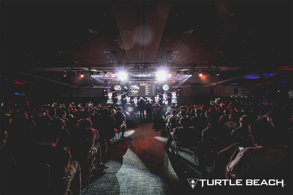 Championship Sunday at MLG Orlando 2017 with gaming headset maker Turtle Beach.