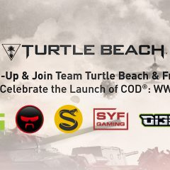 Join Team Turtle Beach & Friends to Celebrate the Launch of COD: WWII