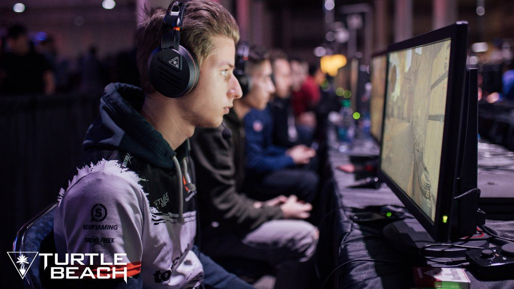 Supremacy compete at CWL NOLA 2018 using Turtle Beach Elite Pro Gaming Headsets.