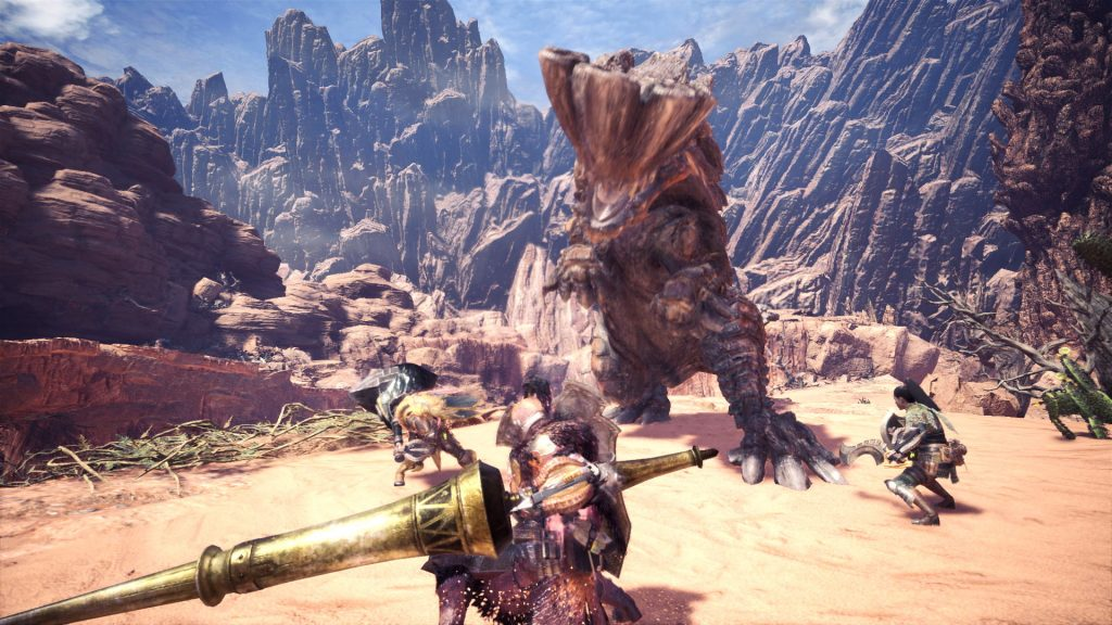Playing Monster Hunter: World with friends is one of the best ways to experience it.