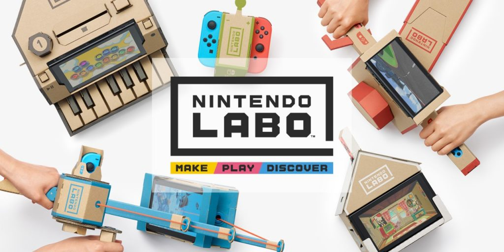 Gaming headset maker Turtle Beach examines Nintendo's latest announcement: Labo!