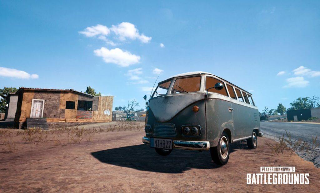 The van is a new vehicle to help you get around Miramar.