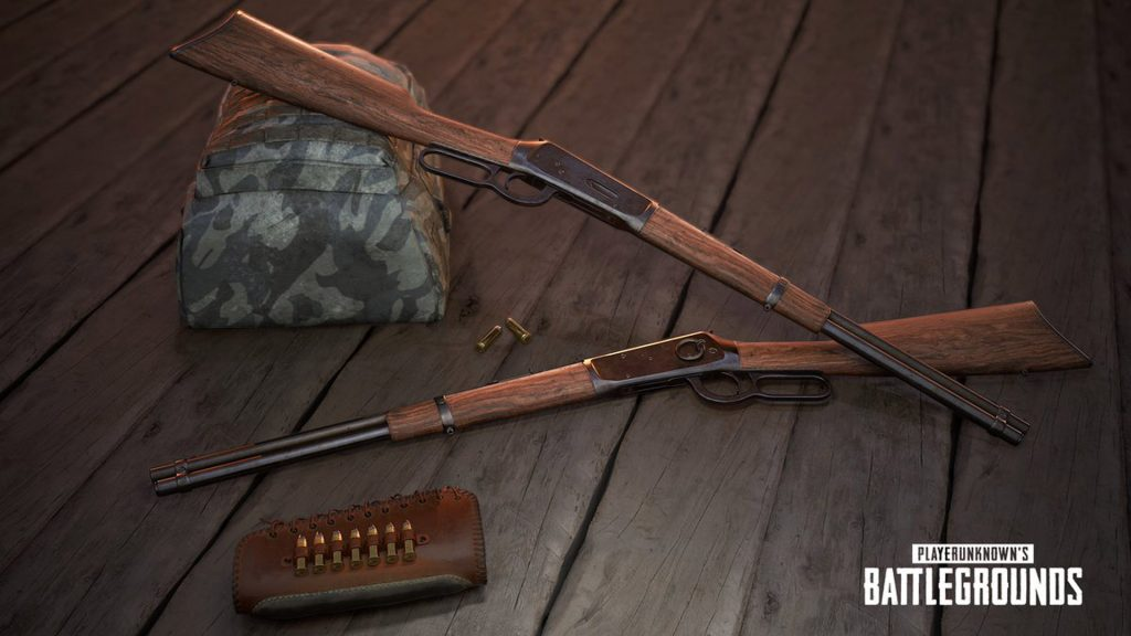 The Winchester sniper rifle is one of the new Miramar-exclusive weapons.