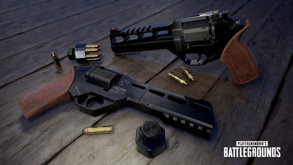 PUBG's new map, Miramar, includes a new pistol called the R45.