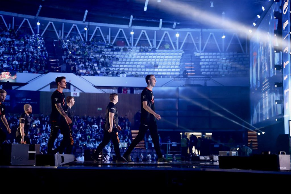Astralis take the stage at IEM Katowice.