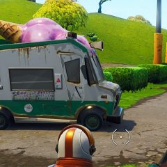Where to Find Ice Cream Trucks in Fortnite Battle Royale