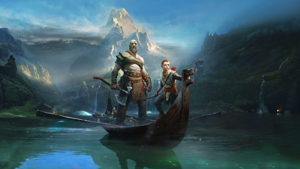 God of War for PlayStation 4.