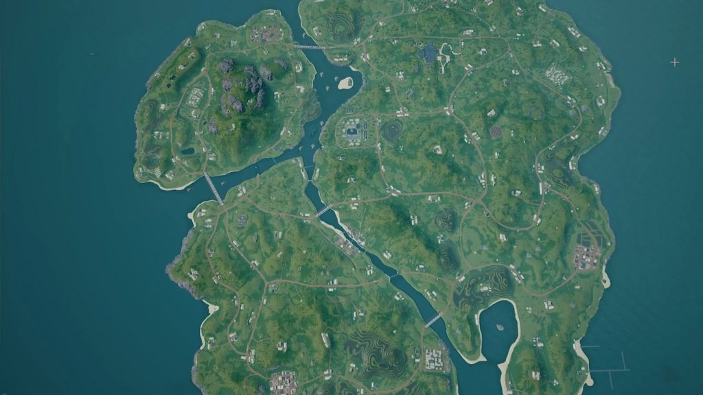 PUBG Savage map.