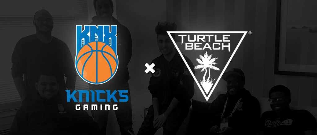 Knicks Gaming team up with Turtle Beach for NBA 2K League.