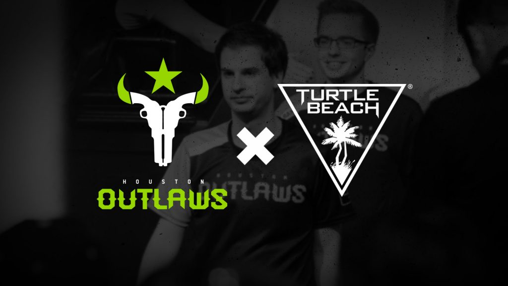 Turtle Beach and the Houston Outlaws new partnership