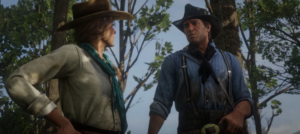Arthur Morgan in Red Dead Redemption 2