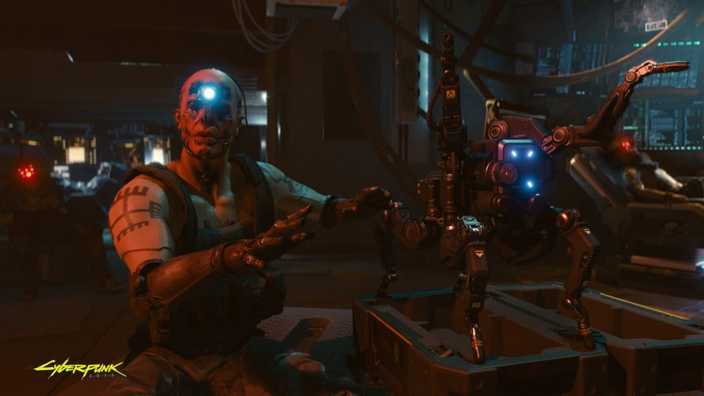 Cyberpunk 2077 CD Projekt Red at E3 2018.