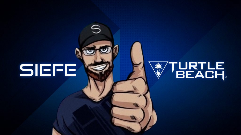 Turtle Beach and Mixer Streamer Siefe join forces.