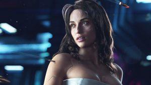 Cyberpunk 2077 at E3 2018.