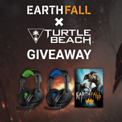 EarthFall x Turtle Beach Giveaway for PS4 & Xbox One
