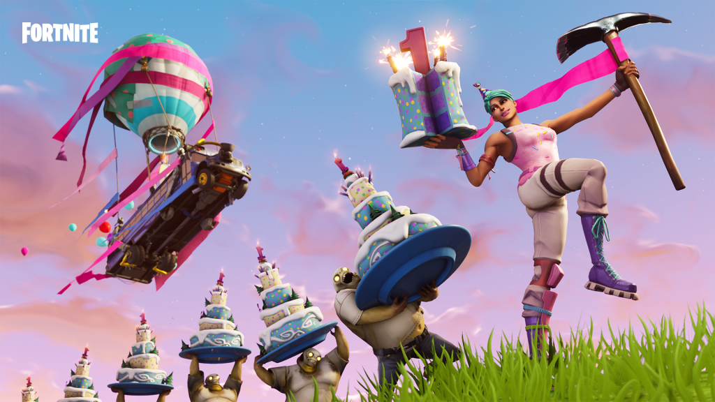 Fortnite's 1st Birthday Celebration