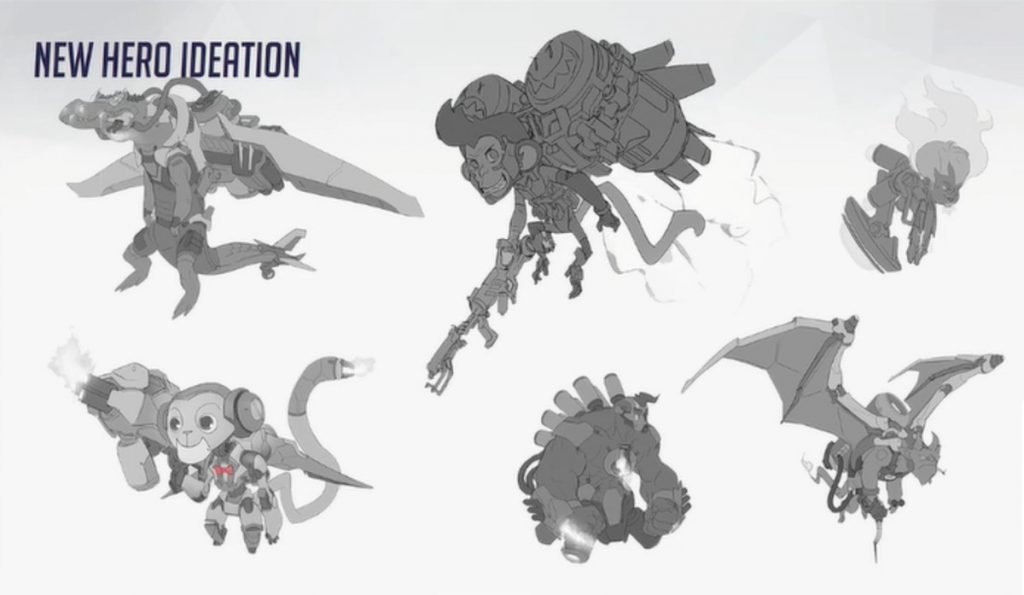 New animal heroes for Overwatch