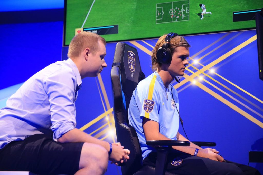 Man City and Turtle Beach at the FIFA eWorld Cup