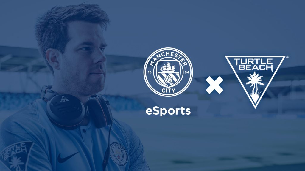 Man City Esports and Turtle Beach partner together.