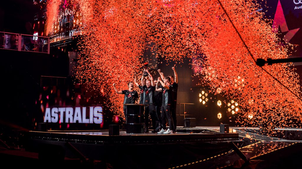 Astralis Claim Victory At FACEIT London Major