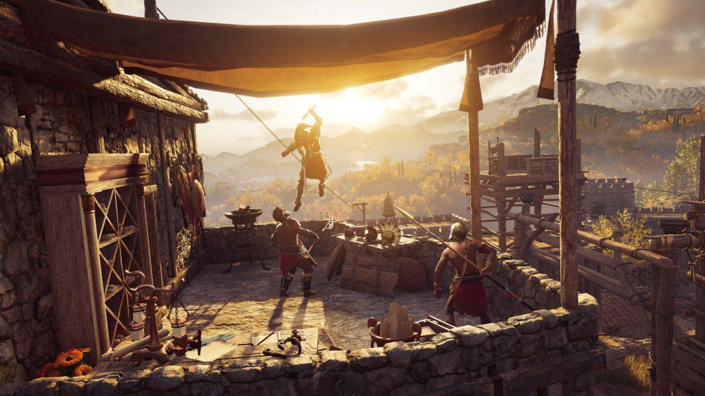 Fight leap Odyssey