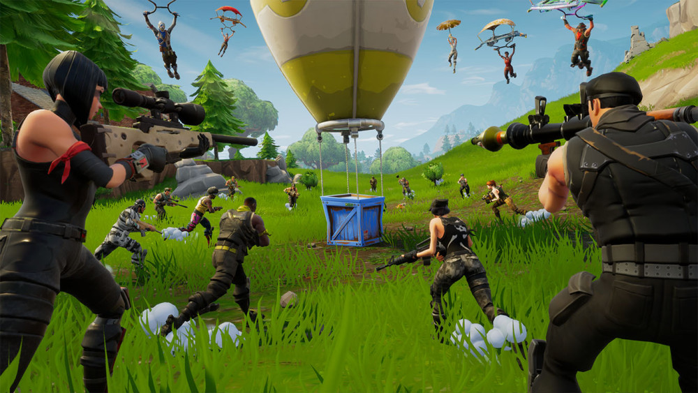 Présentation du jeux Fortnite Battle Royale de Epic Games