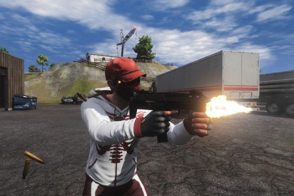 H1Z1 Sub machine gun