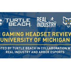 Real Industry and Turtle Beach Join Forces at the University of Michigan for Game Industry Night
