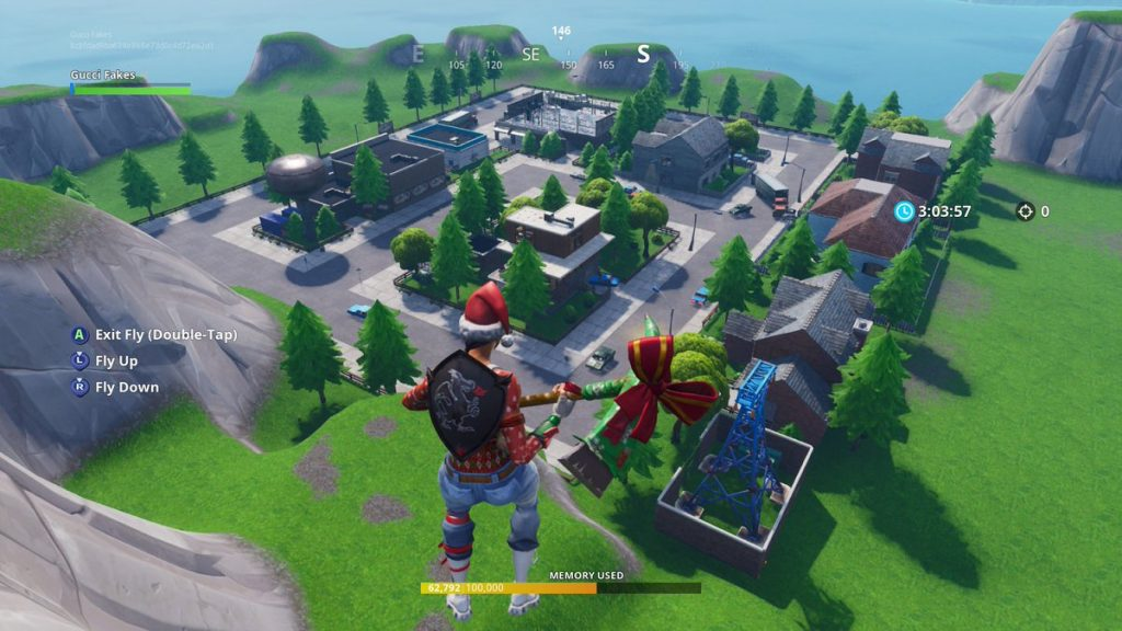 where is the block on fortnite