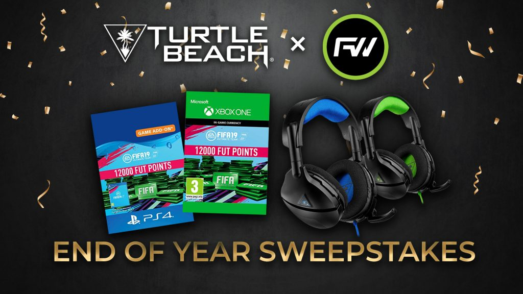 Turtle Beach X FUTWIZ End Of Year Sweepstakes Giveaway
