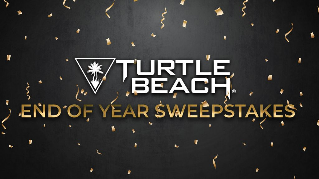 Turtle Beach End of Year Sweepstakes Giveaway