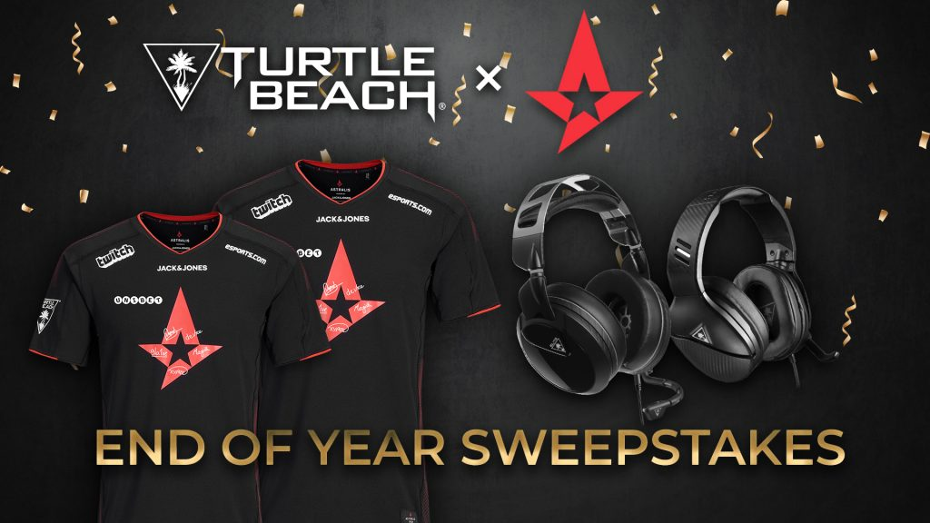 Turtle Beach x Astralis End Of Year Sweepstakes Giveaway 2018
